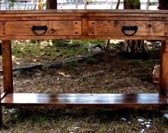 Rustic Sofa Table Rustic Side Table Rustic Sofa Side Table Rustic Furniture