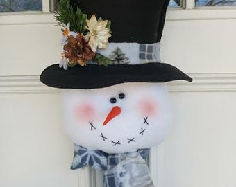 Classic Frosty the Snowman Door/Wall Hanging