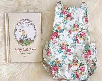 Floral Baby Girl Romper / Playsuit