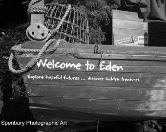 Welcome to Eden, Cornwall, England