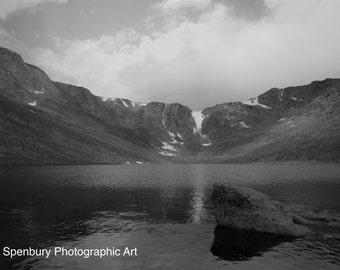 Lake at Mount Evans, Colorado, USA