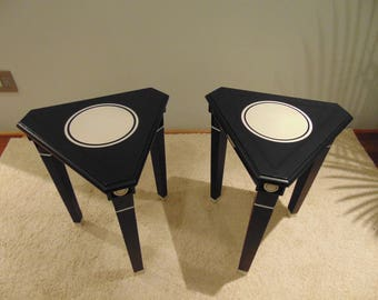 Pair of Side Tables by Jeffrey Adler