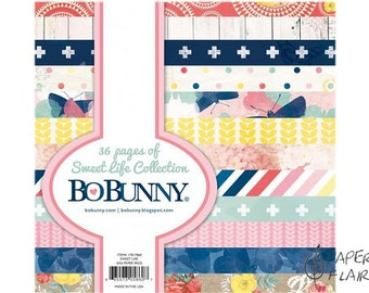 Scrapbooking paper BoBunny 6x6inch 36 sheets (VC-14)