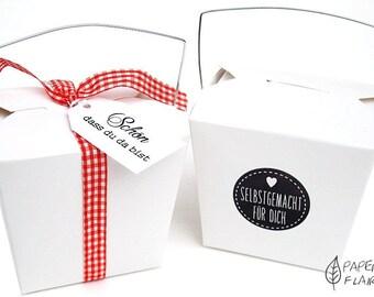 10 boxes gift boxes Asiabox white (PFO2)