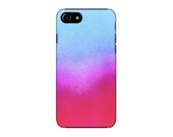pink blue iphone case