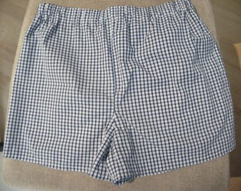 Gingham school shorts