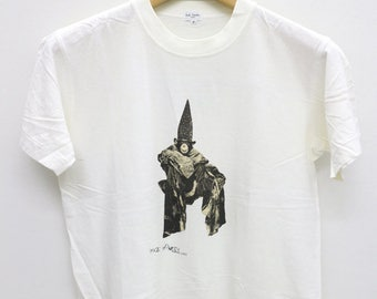 Vintage 1992 MAGIC MONKEY By Paul Smith White Tee T Shirt