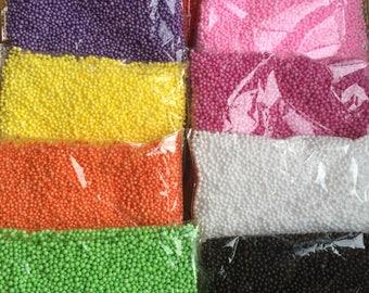 SALE- Foam Beads For Slime