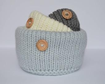 Baby Penguin Storage Pots