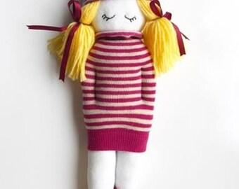 handmade cute doll