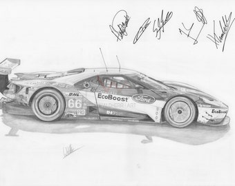 Ford GT (2016)-Print