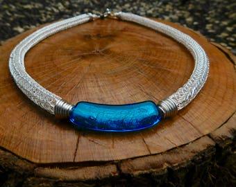 Zephyr Blue Sky Necklace