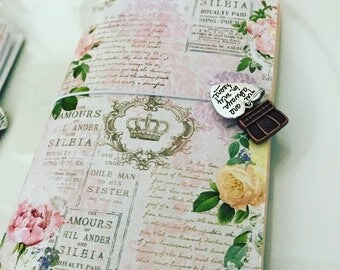 Notebook style Japanese Midori agenda-agenda planner-notepad-Notepad flowers-cute midori notepad