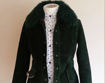 60s suede penny lane coat