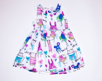 Little Birdy Toddler Girls Spring Dress
