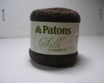 Patons silk and bamboo yarn in Bark