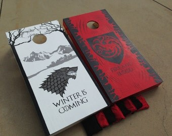 Game of Thrones - Custom painted Cornhole Boards w/ bags