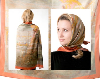 Silk shawl, Ciurlionis