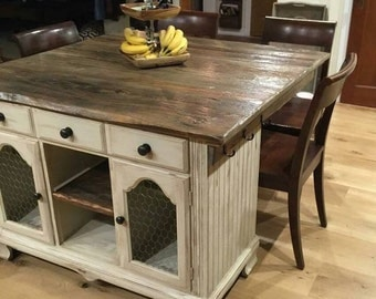 Kitchen Island Furniture kitchen island | etsy
