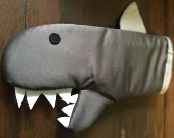 Shark Oven Mitt with fin