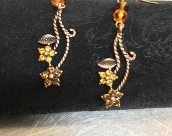 Swarovski elements earrings
