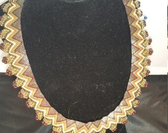 17 Inch Indian Ruffle Necklace