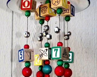 Blocks, Balls, and Bells Wacky Wind Chime