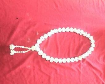 Necklace czech glass
