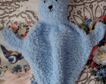 Blue Cuddle Bunny