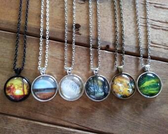 Photo Necklace. Saskatchewan Photography Necklaces