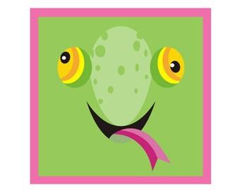 Sweet Little Lizard Friend! Fine Art Print Perfect for Kid's Room