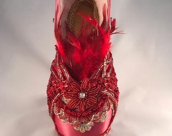 Firebird pointe shoe (decoration)
