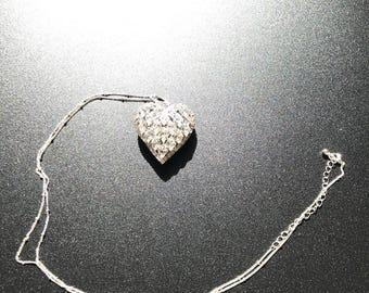 Sparkle heart Pendant.