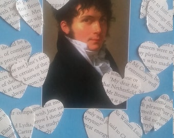 Pride and Prejudice Book Page Confetti
