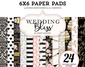Wedding Bliss 6x6 Paper Pad