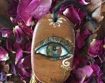 Key ring eye