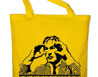 Dr Timothy Tim Leary fabric bags, cotton bags