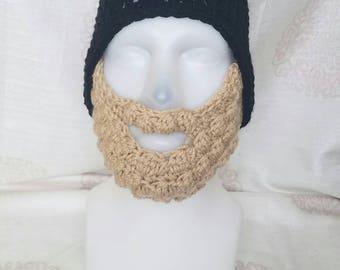 Men's bearded beanie