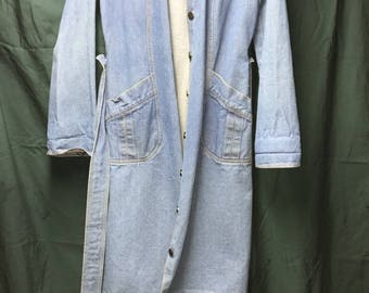 Blue Jean Dress/Coat