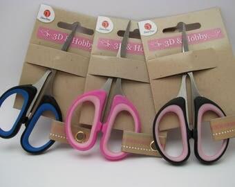 Scrapbooking pair of scissors - 10 cm - craft tool