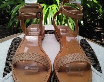 Women Leather Sandals – Strappy Sandals – Comfort Sandals - Handmade Leather Sandals – Summer Sandals