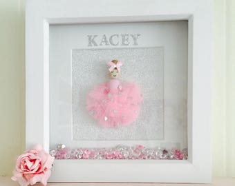 Personalised doll frame