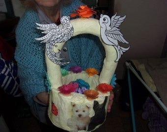 Cream basket