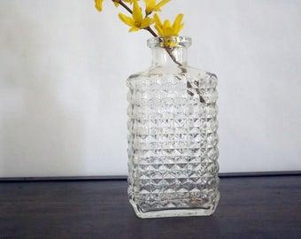 Compressed glass carafe