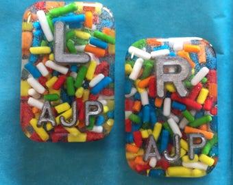 Rainbow sprinkles xray markers