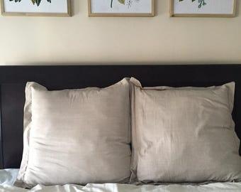 Eurosham Throw pillows - set of 2