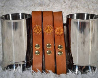 Tankard Holders, SCA, Renactor, LARP, Steampunk, Piratefest