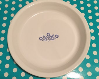 Corning Ware Blue Cornflower Pie Plate