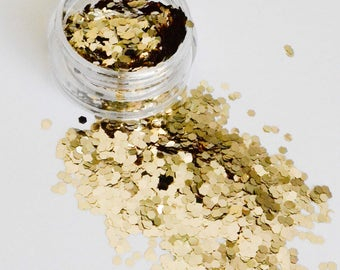 Beautiful Cosmetic Glitter Golden Years