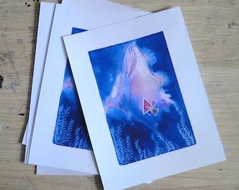 Postcard - Postalcard - mountain - Dreamlike landscape